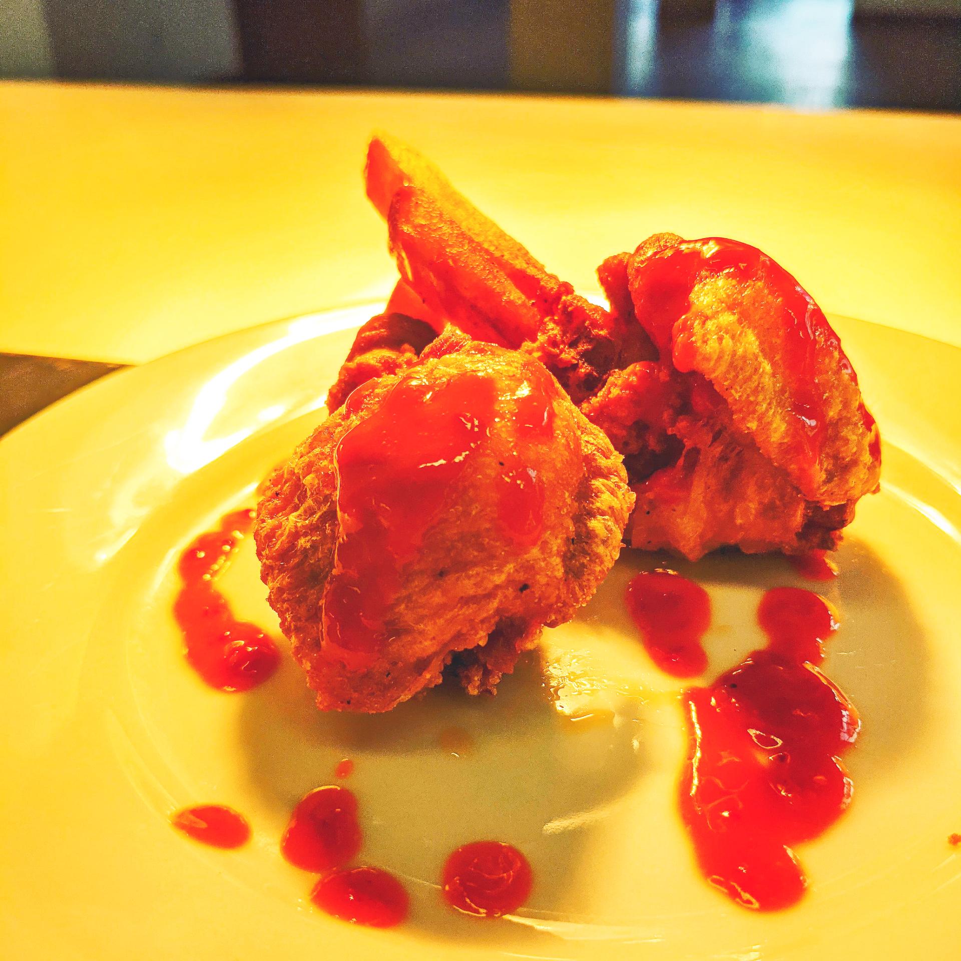 Stuff chicken wing