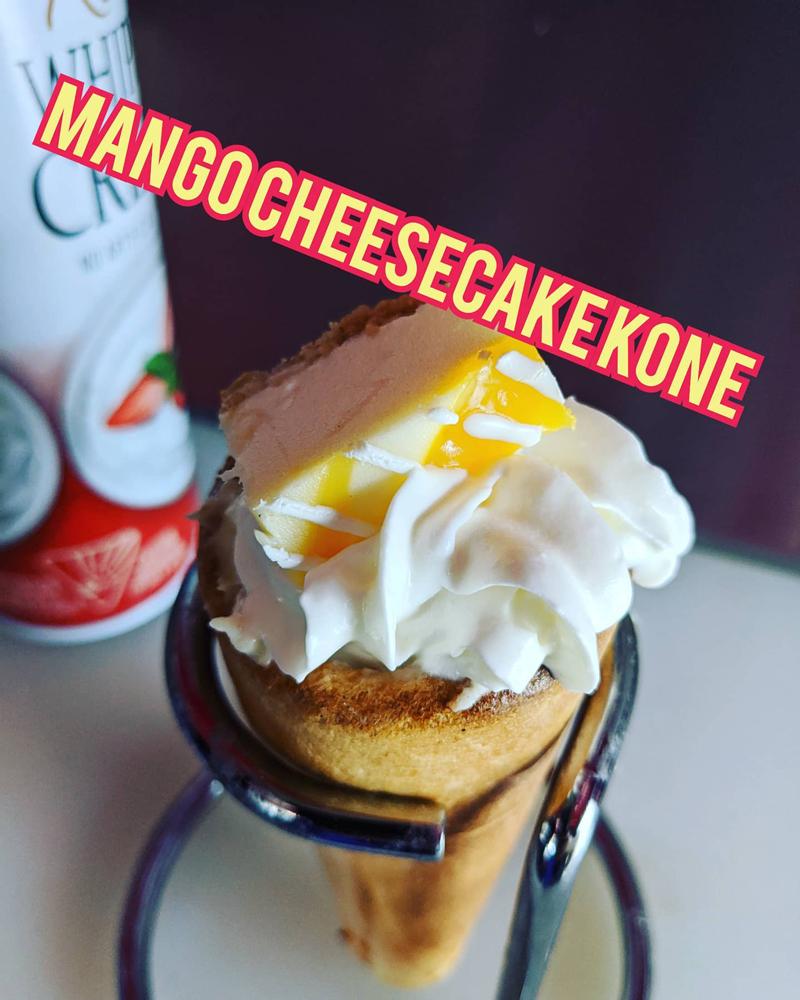 Mango Cheese Cake Kone